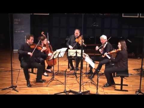 WA Mozart: String Quintet in G minor, K516 from Concert 22nd August 2015