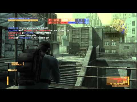 Metal Gear Online Sneaking Mission GamePlay