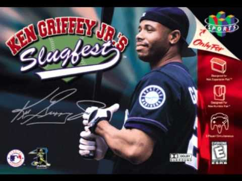 e13b4252cf Ken Griffey Jr.'s Slugfest Home Run Derby theme - YouTube