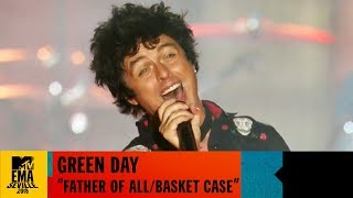 Gambar cover Green Day 'Father Of All / Basketcase' (World Stage main show clip) Live | MTV EMA 2019