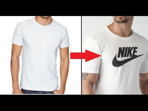 Make Your Own DIY Custom Brand T-Shirt Without Transfer Pape
