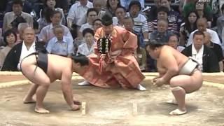 Июльский турнир по сумо 2012-го года 1-3 дни (Hагоя Басё)