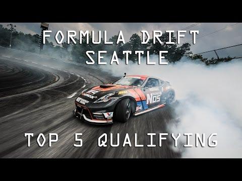 Formula DRIFT Seattle - Top 5 Qualifying