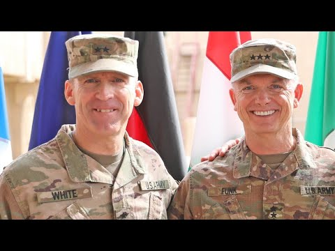Ltg. White Takes Over III Corps: Military Matters