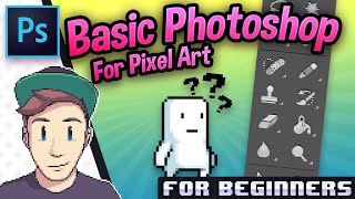 TUTORIAL: Setup Photoshop for Pixel Art Basic (for beginners)