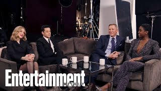 No Time To Die' Cast Reflects On Working With Daniel Craig | Entertainment Weekly