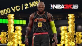 [Patché] Astuce NBA 2K16 : Comment avoir 600+ VC toutes les 2 Minutes