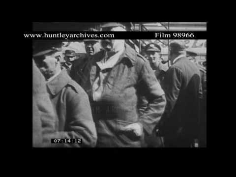 First World War cinema.  Archive film 98966