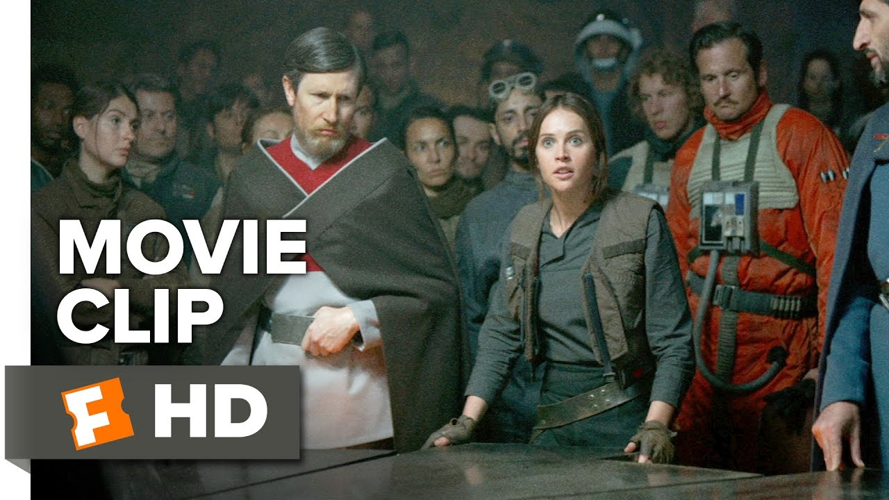 Rogue One: A Star Wars Story Movie CLIP - Jyn Rallies the Rebel Alliance (2016) - Movie