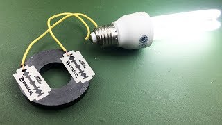 New Science Free Energy  Generator 100% With Magnet and Blade …