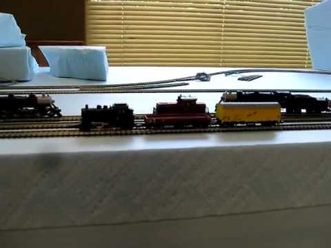 Z SCALE MARKLIN BR89 0-6-0 STEAM LOCOMOTIVE SET #8182