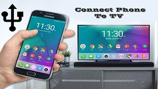HOW TO CONNECT MOBILE PHONE TO TV    SHARE MOBILE PHONE SCREEN ON TV
