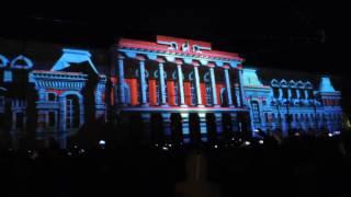 3D mapping шоу на день города в Нижнем Новгороде