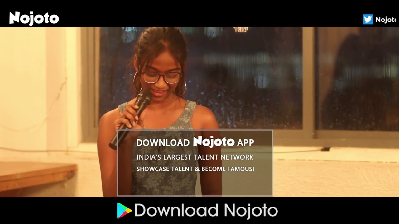 Spoken Word Poetry at Nojoto Open Mic Hyderabad by Xplore Abhinayam