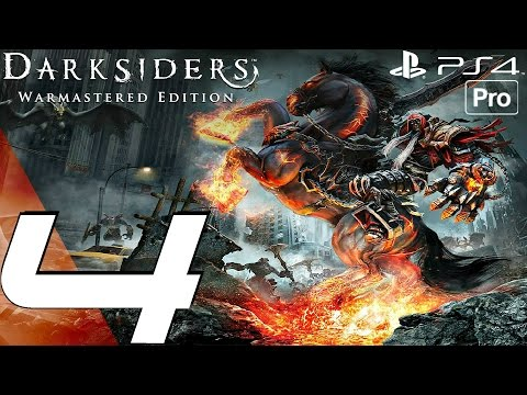 Darksiders Warmastered Edition - Gameplay Walkthrough Part 4 - Tiamat Boss & Drowned Pass (PS4 PRO)