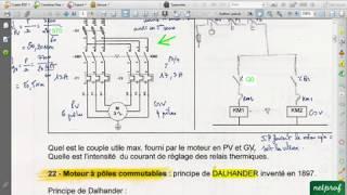 Formation Variateur de vitesse 1. Moteur 2 vitesses et câblage avec API