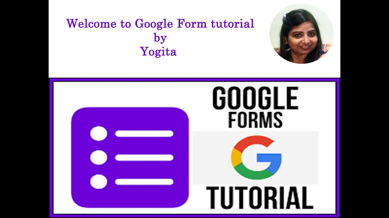 Google Form Tutorial - How create a google form with ...