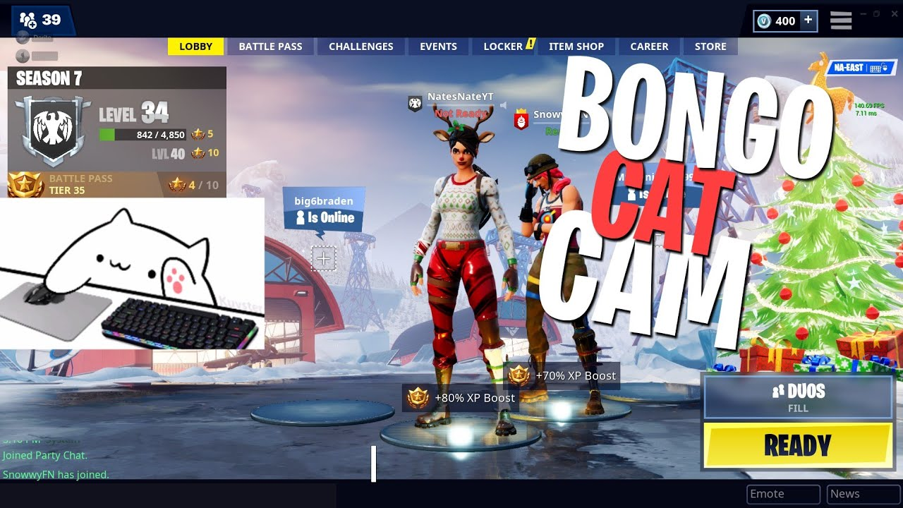Bongo webcam