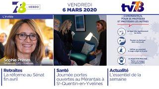 7/8 L'Hebdo. Edition du vendredi 6 mars 2020
