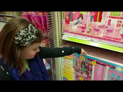 """Pick Any Barbie At Toys R Us, Victoria """"Toy Freaks"""" Shopping Haul Dream House"""