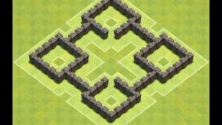 TH4 Farming Base (RedCross) Speedbuild, Anti Giant