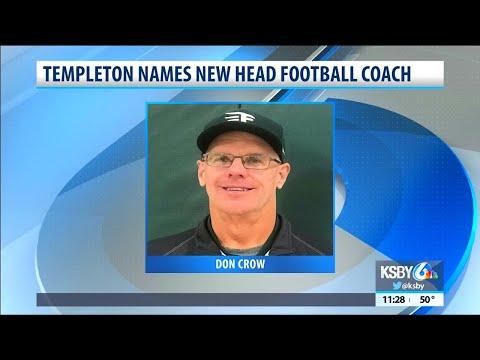 Templeton announces Don Crow as new head football coach
