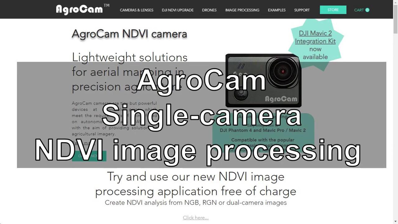 AgroCam - Single-camera NDVI processing