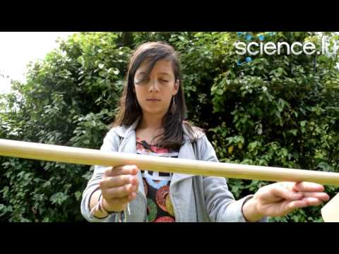 Find the centre of gravity of a broom with eyes closed!
