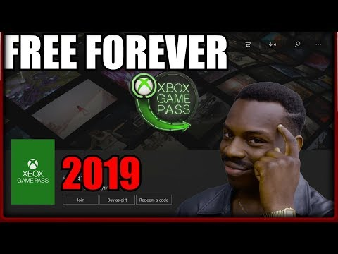 How To Get FREE Xbox Game Pass With Unlimited Xbox Game Pass Subscription/Trial On Xbox One 2019