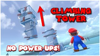 Is it possible to climb Crisp Climb Castle without any Power-Up? - Bowser's Fury