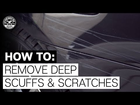 How To Take Off Paint Scuffs & Scratches! - Chemical Guys