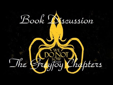 book discussion the greyjoy chapters youtube