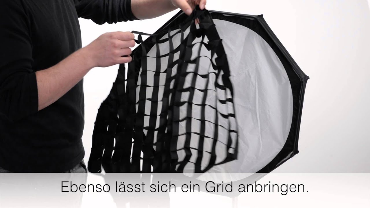 Accessories Bags Trolley Bag Foldable Broncolor Life Of Photo Mobile Beauty Dish Weiss Silber Mit Anwendungsbeispiel