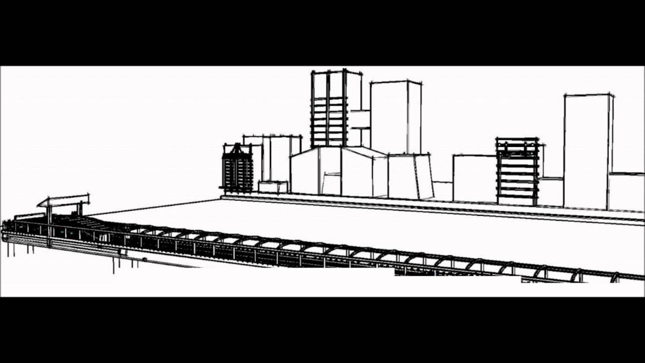 TRAIN PROJECT- 'AWESOME' Presentation using AutoCAD, Revit