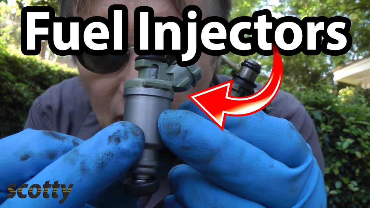 How To Replace Fuel Injectors In Your Car Youtube 2003 Kia Optima Engine Diagram 4 Cyl