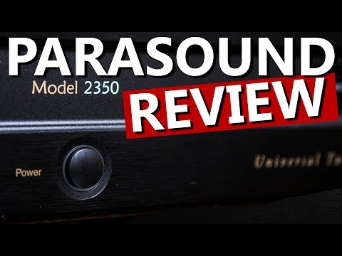 Parasound Zonemaster 2350 Amplifier Review