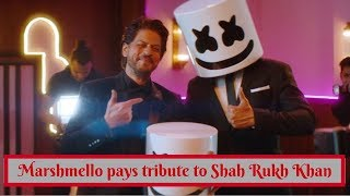 Marshmello collaborates with Pritam for a video with Shah Rukh Khan and Shirley Setia