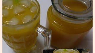 Homemade Mango Frooti recipe/ घर पे आसानी से  बनाएं स्वादिष्ट मेऺगे फुरूटी / મેંગો ફ્રુટી  બનાવવા ની
