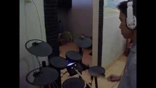 Tonny Christian - La La Latch - Pentatonix Drum Cover