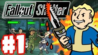 Fallout Shelter | BUILDING MY OWN FALLOUT VAULT! | Fallout Shelter Part 1 Gameplay
