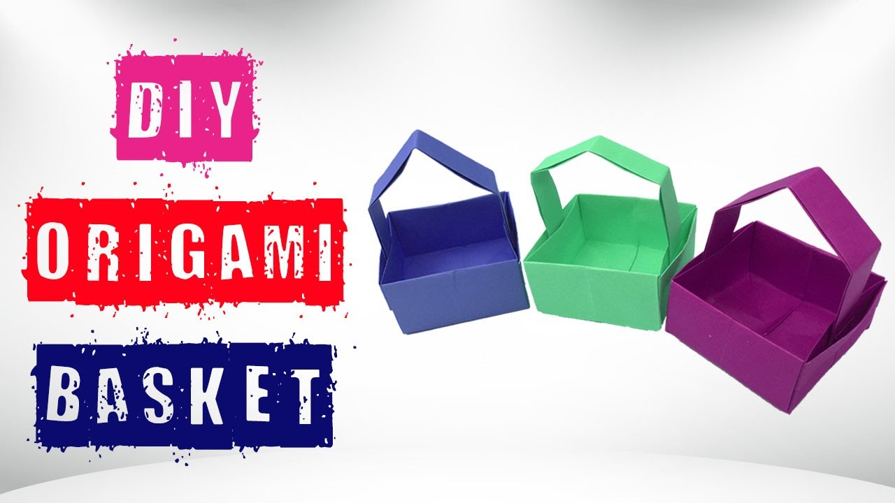 Easy Simple Origami Basket