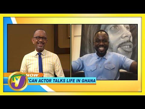 Jamaican Actor Talks Life in Ghana | TVJ Smile Jamaica