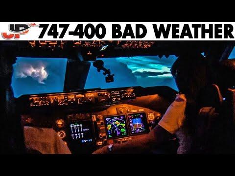 Piloting BOEING 747