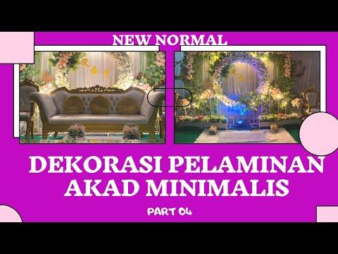 dekor akad nikah new normal dirumahaja | part 04 wedding