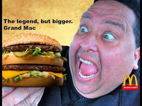 "McDonald's® GRAND ""MAC DADDY"" Review!"