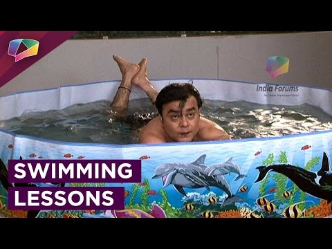 Saajan Agarwal teaches swimming to his boss on May I Come In Madam! thumbnail