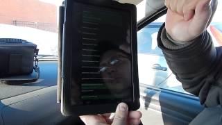 Блог LADA Largus #3 Как сделать бортовой компьютер из планшета и адаптера ELM 327