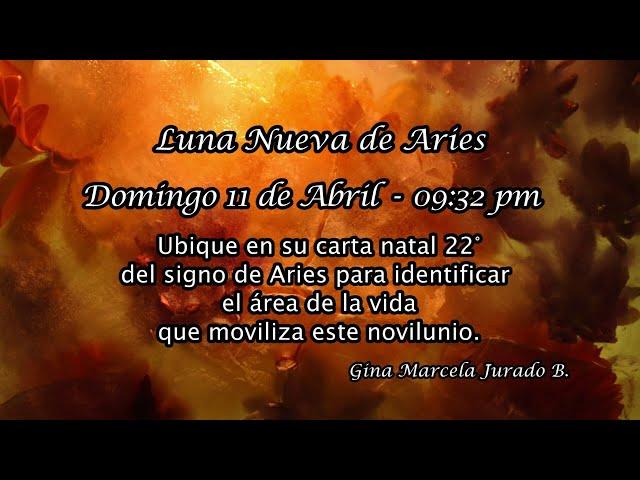 Luna Nueva de Aries