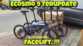 NEW Update..!! Sepeda Lipat Element Ecosmo 9
