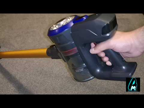 Dibea D18 Cordless Stick Vacuum Cleaner (Review)